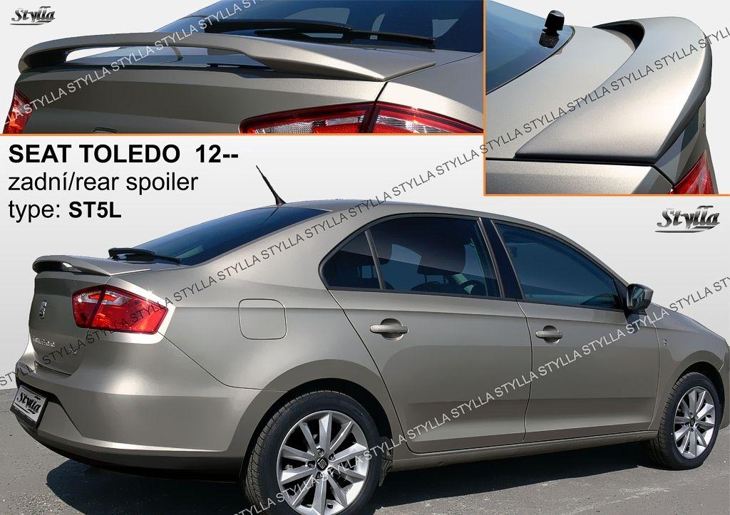 Spoiler zadných dverí horný, Seat Toledo IV, 2012-