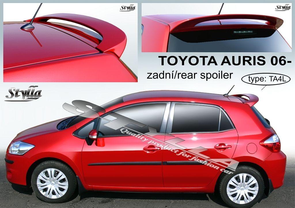 Spoiler zadných dverí horný, Toyota Auris I, 2006-2012
