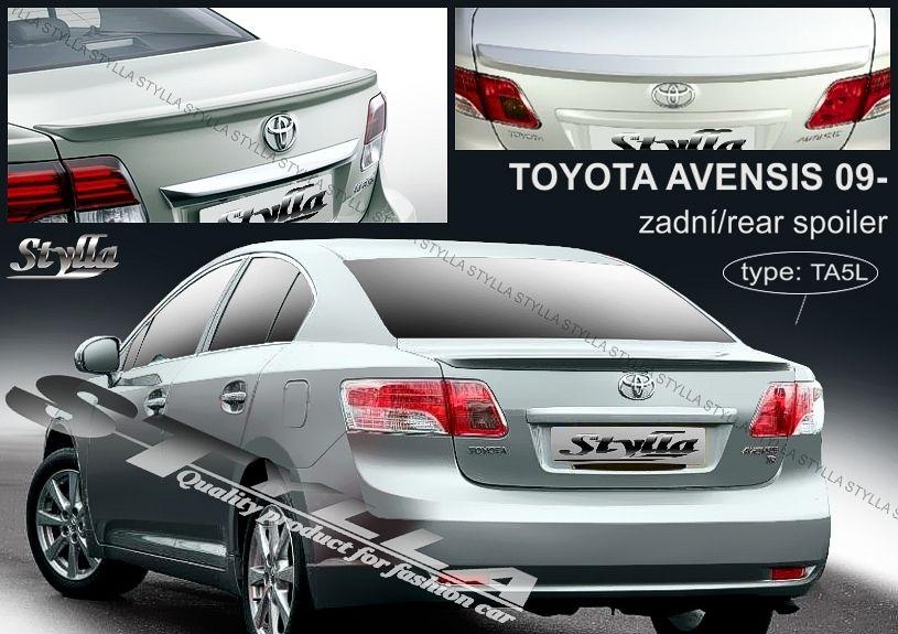 Spoiler na kapotu, Toyota Avensis III, 2008-