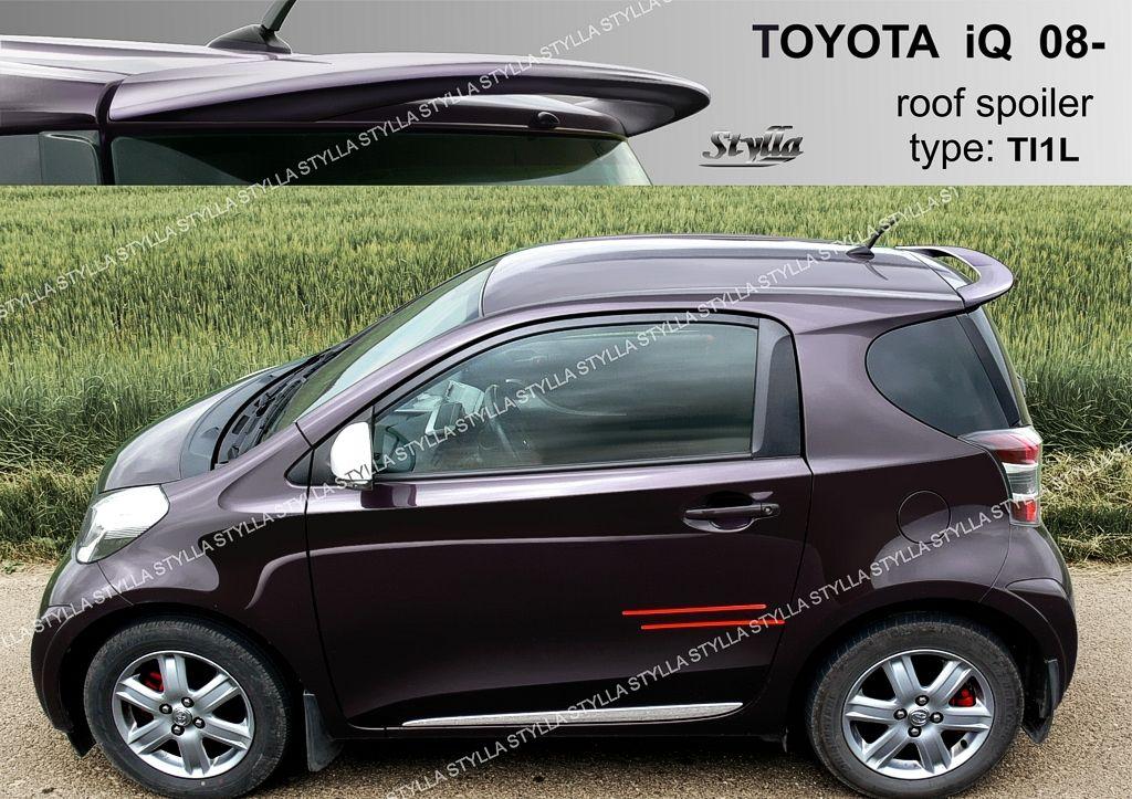 Spoiler zadných dverí horný, Toyota IQ, 2008-2016