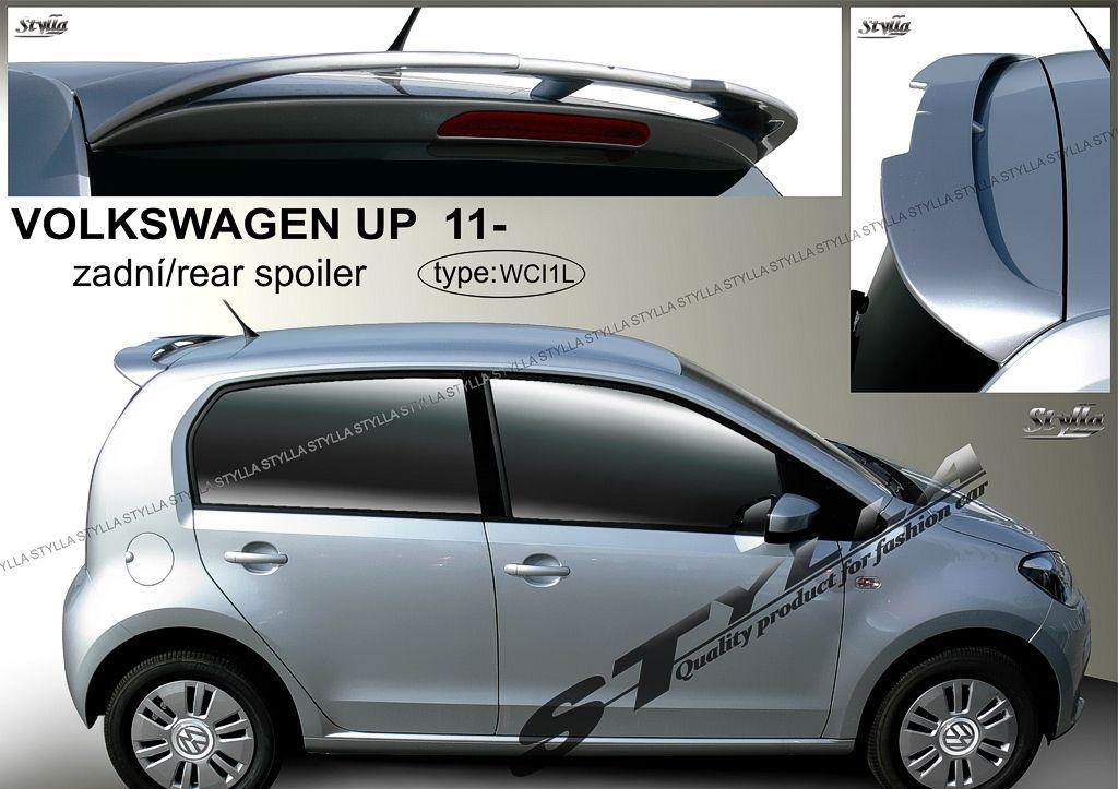 Spoiler zadných dverí horný, VW Up, 2011-