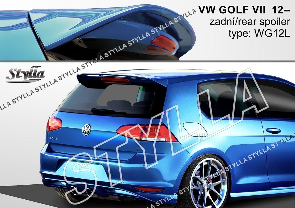 Spoiler zadných dverí horný, VW Golf VII, 2012-