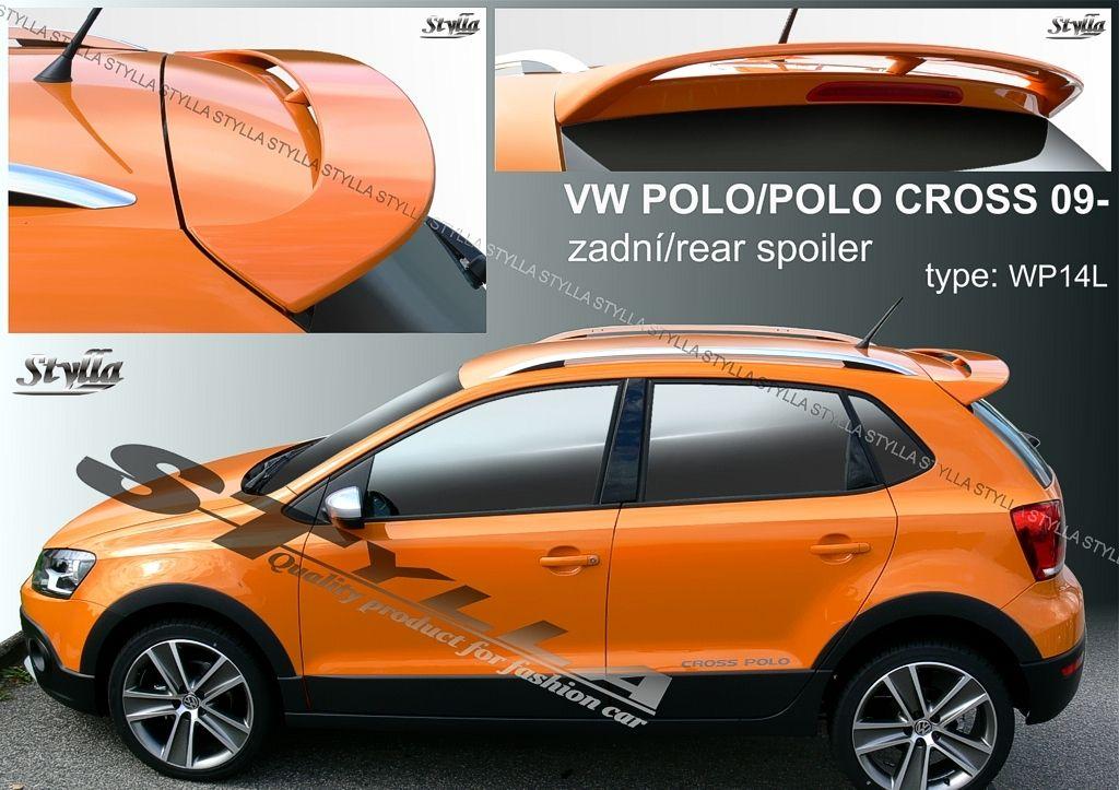 Spoiler zadných dverí horný, VW Polo V, 2009-2017