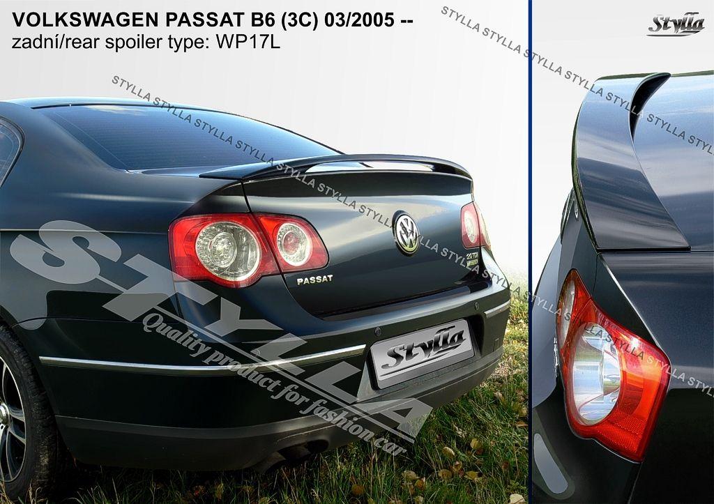 Spoiler na kapotu, VW Passat B6, 2005-2010