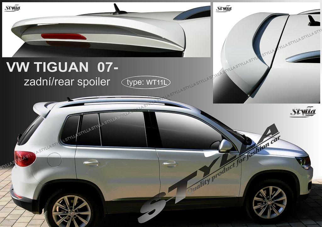 Spoiler zadných dverí horný, VW Tiguan I, 2007-2015