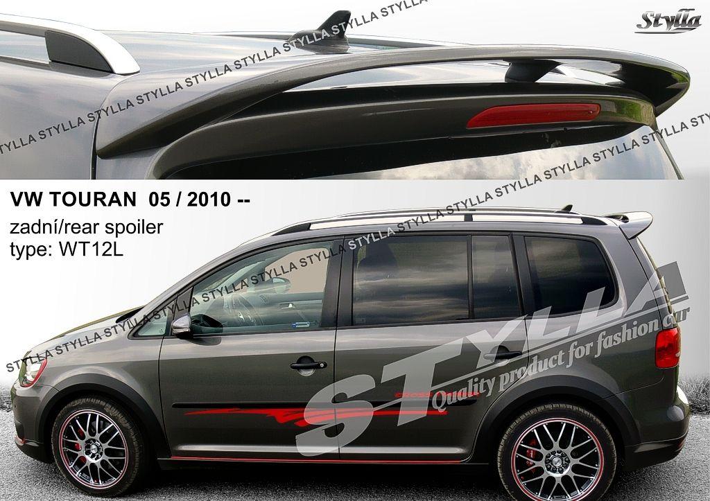 Spoiler zadných dverí horný, VW Touran I, 2010-2016