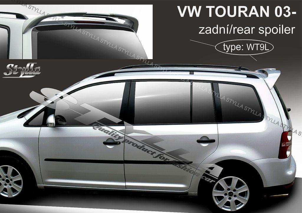 Spoiler zadných dverí horný, VW Touran I, 2003-2010