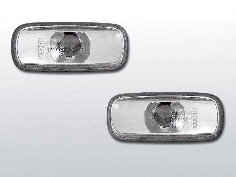 Smerovky bočné, AUDI A3,A4,A6, CHROME