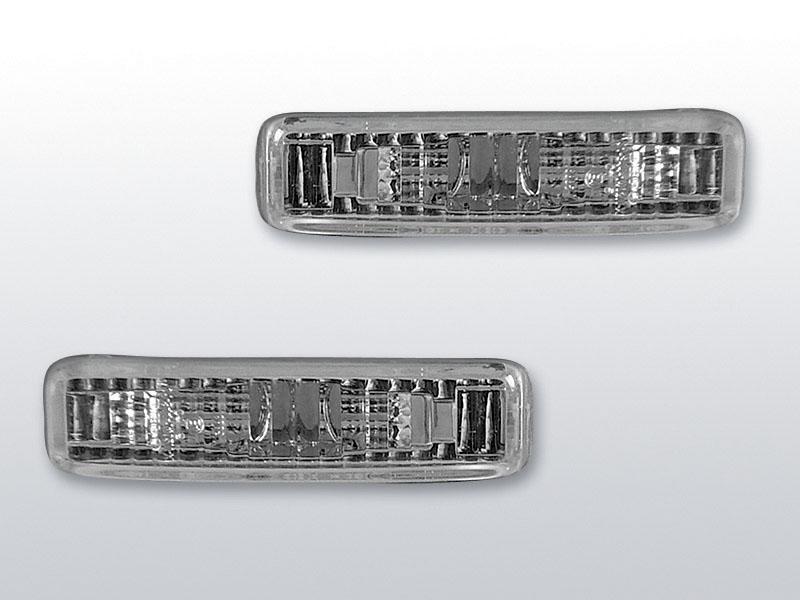 Smerovky bočné, BMW E39, 1995->2003, CHROME