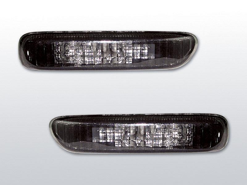 Smerovky bočné, BMW E46, COMPACT, BLACK