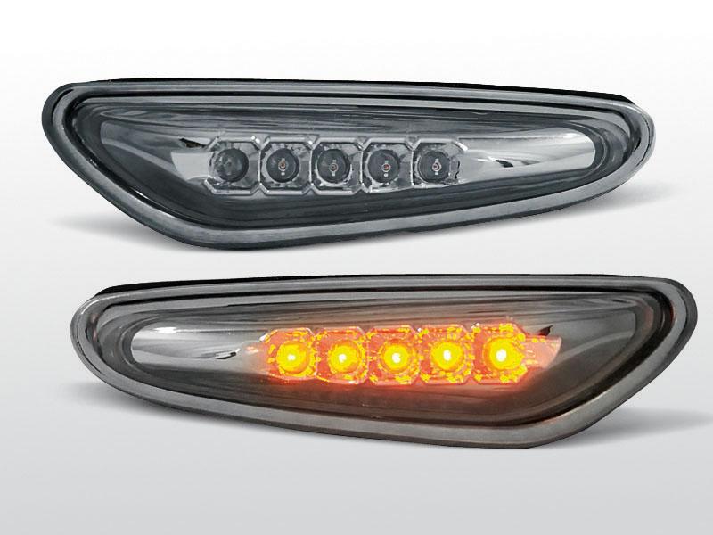 Smerovky bočné, BMW E46, SEDAN/TOURING, SMOKE LED
