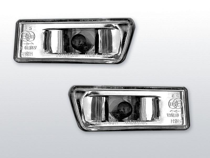 Smerovky bočné, PEUGEOT 406, 1995->1999, SEDAN/KOMBI, CHROME