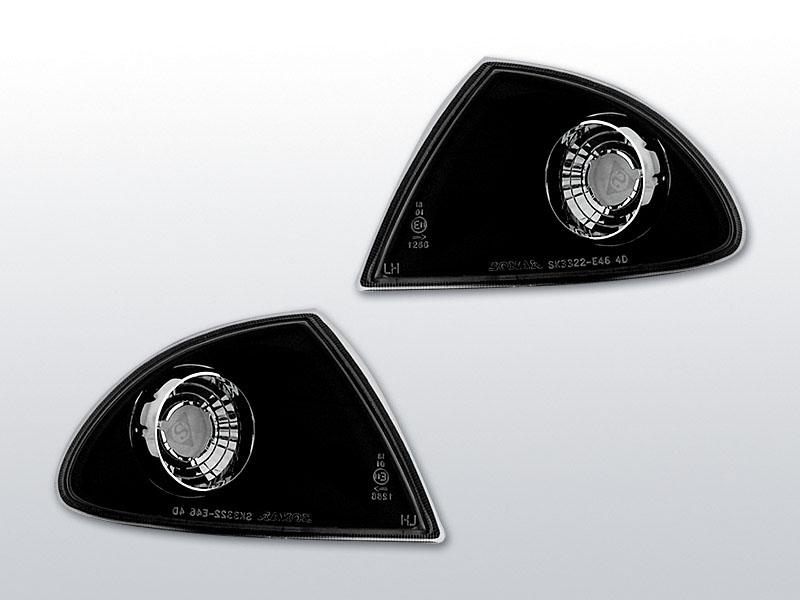 Smerovky predné, BMW E46, 1998->2001, BLACK