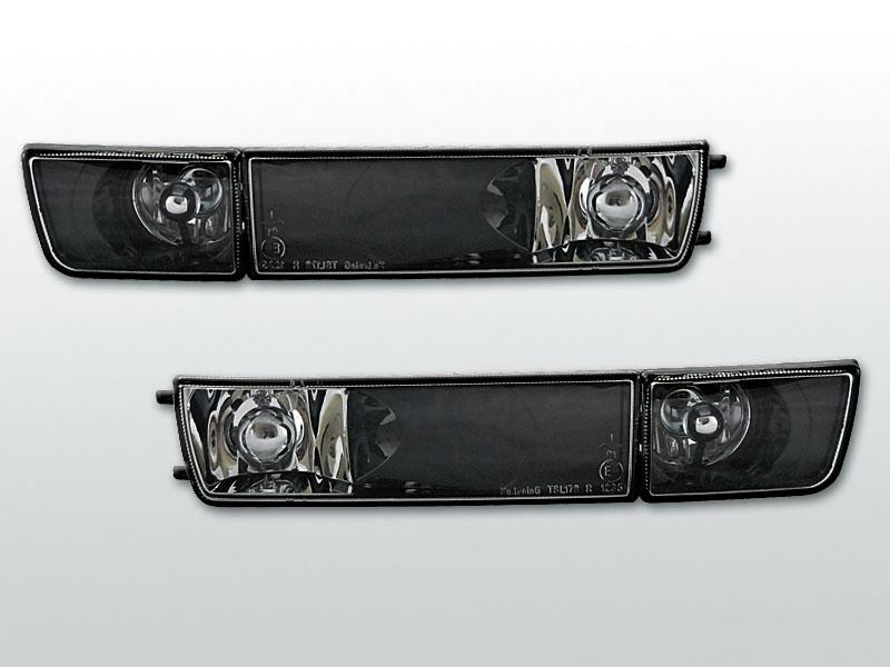 Smerovky predné, VW GOLF III + VW VENTO, S HMLOVKOU, BLACK