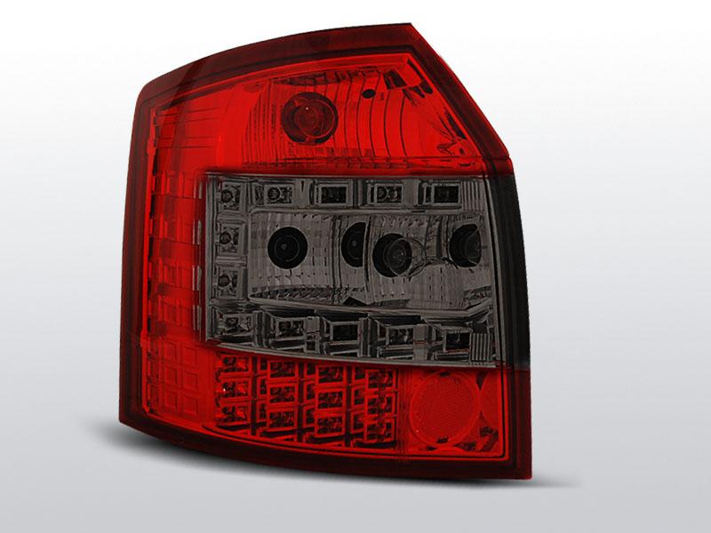 Zadné svetlá diódové, AUDI A4, 2000->2004