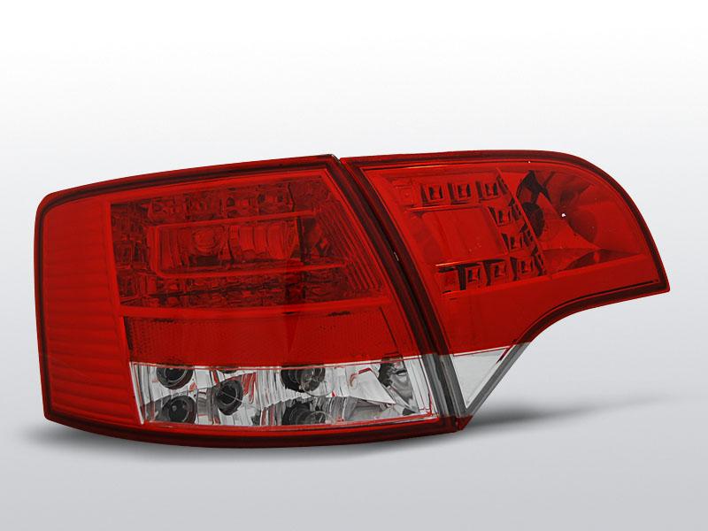Zadné svetlá diódové, AUDI A4 B7, 2004->2008