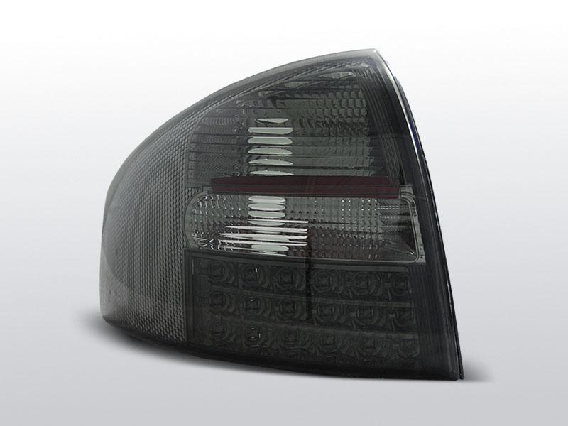 Zadné svetlá diódové, AUDI A6, 1997-2004, SEDAN SMOKE LED