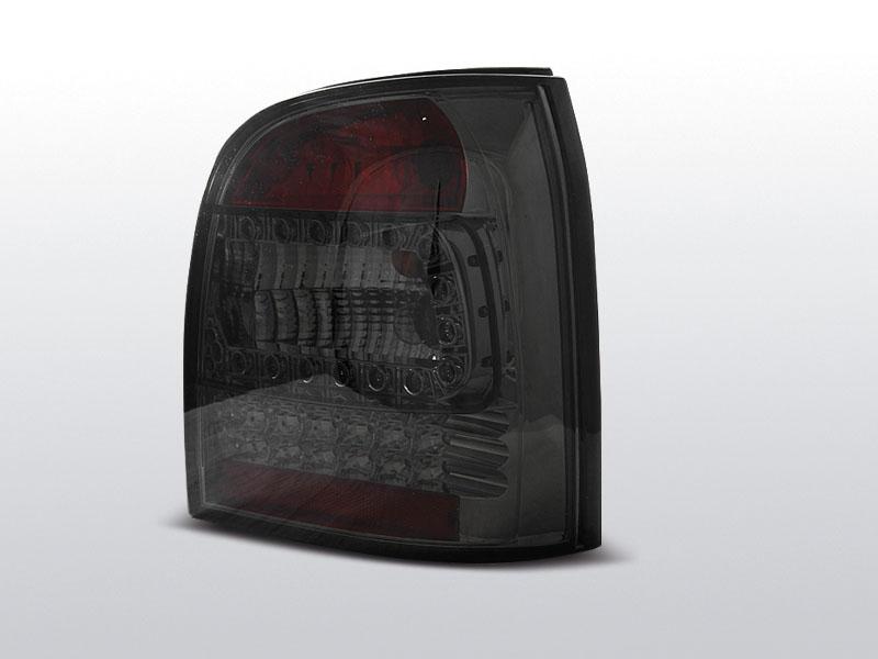 Zadné svetlá diódové, AUDI A4, 1994-2001, AVANT SMOKE LED