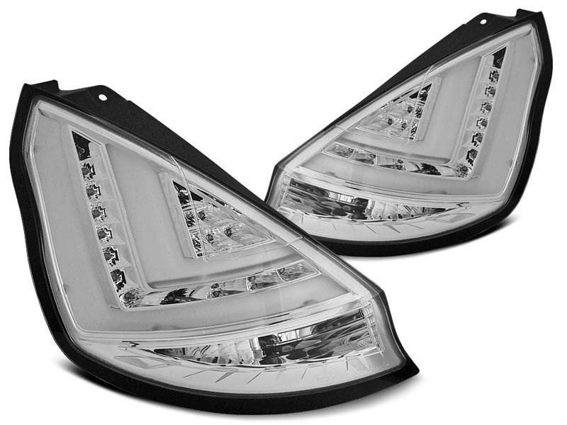 Zadné svetlá diódové, FORD FIESTA MK7,2008-2012, Hatchback