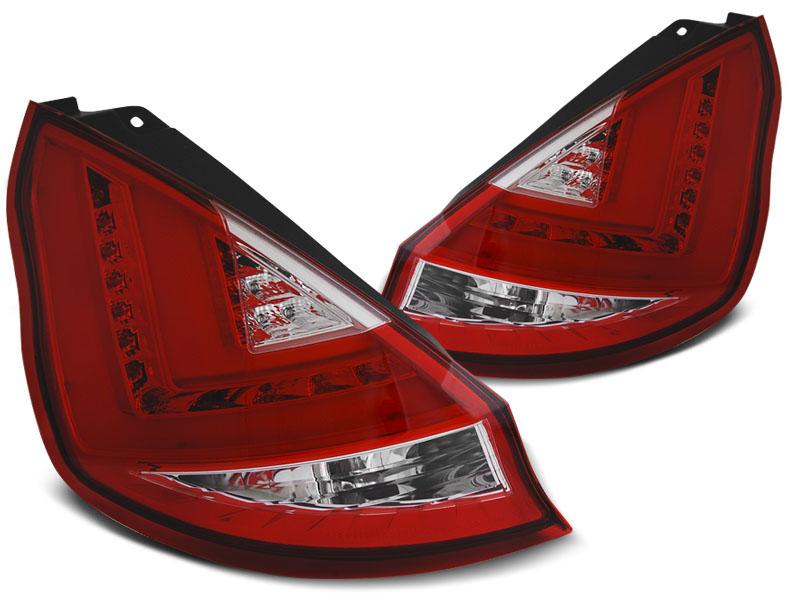 Zadné svetlá diódové, FORD FIESTA MK7,2012-2016, Hatchback