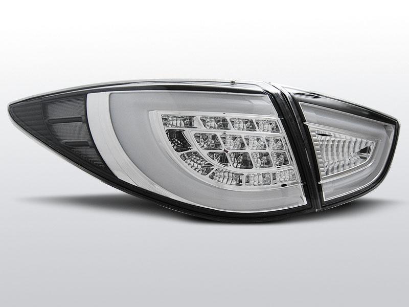 Zadné svetlá diódové, HYUNDAI IX35, 2009-, CHROM LED