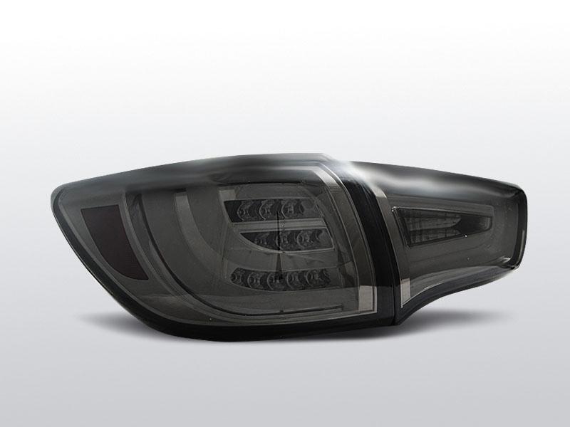 Zadné svetlá diódové, KIA SPORTAGE III, 2010-, SMOKE LED BAR