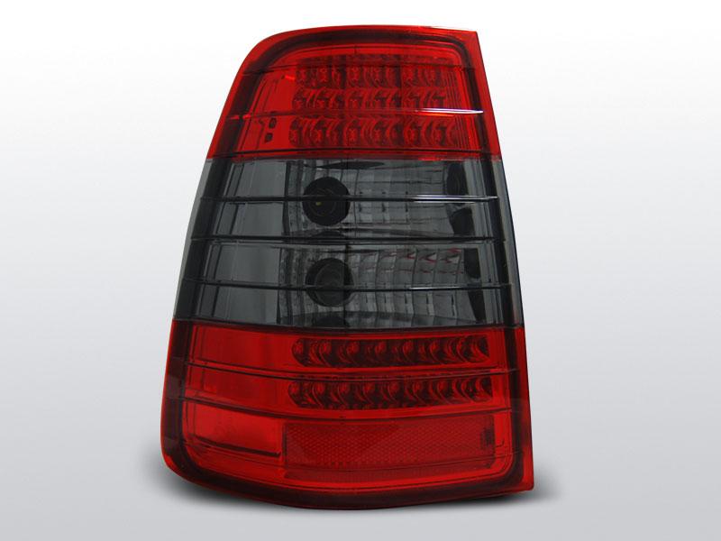 Zadné svetlá diódové, MERCEDES W124 E-KLASA KOMBI, 1985->1995
