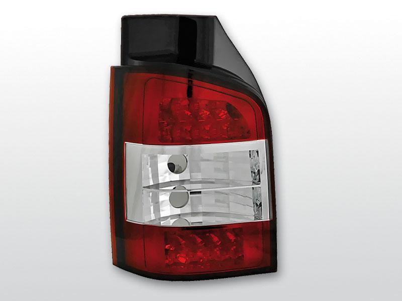 Zadné svetlá diódové, VW T5, 2003->2009