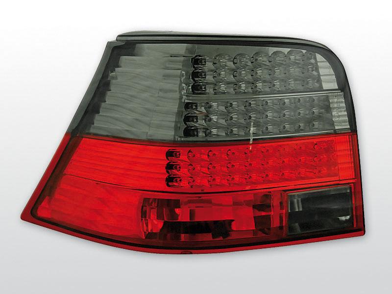 Zadné svetlá diódové, VW GOLF 4, 1997->2003
