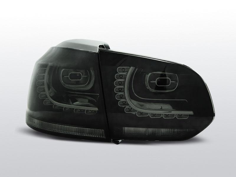 Zadné svetlá diódové, VW GOLF 6, 2008->