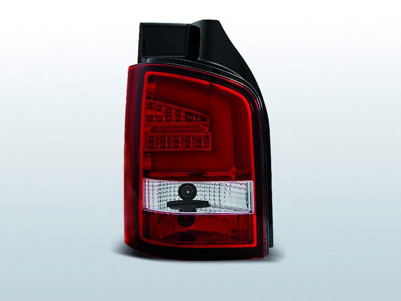 Zadné svetlá diódové, VW T5, 2003-2009, R-W LED BAR