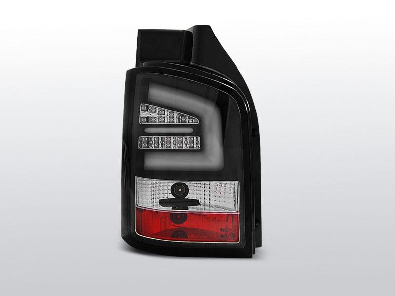 Zadné svetlá diódové, VW T5, 2010-, ČIERNA LED BAR
