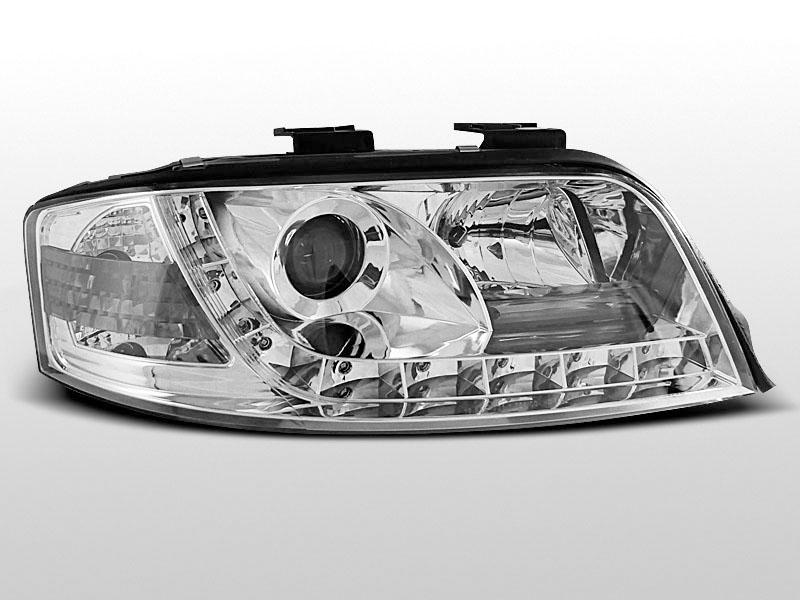 Predné svetlá, AUDI A6, 2001->2004