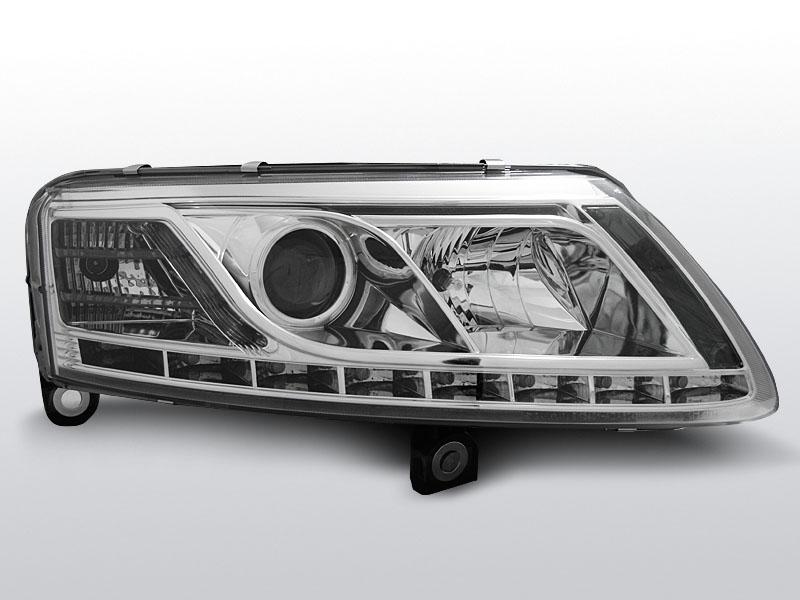 Predné svetlá, AUDI A6 C6, 2004->2008