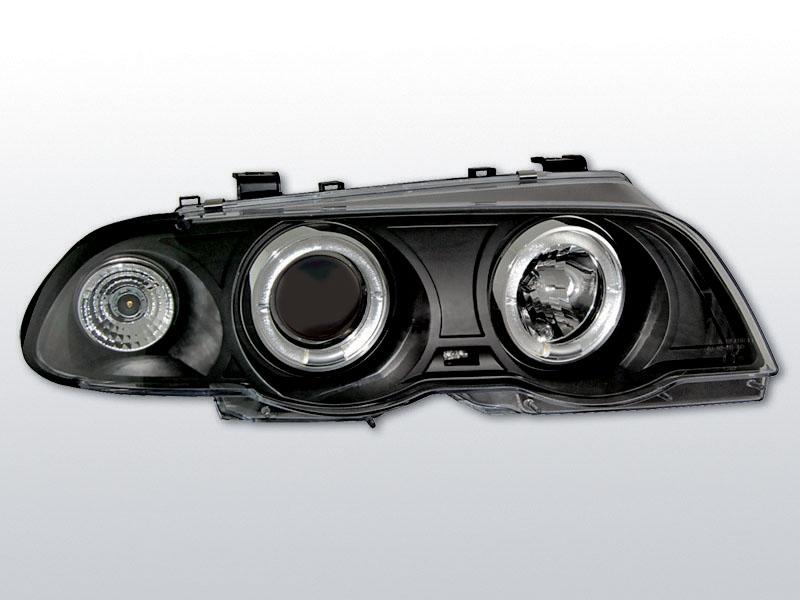 Predné svetlá, BMW E46, 1998->2001