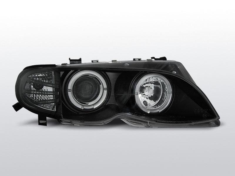 Predné svetlá, BMW E46, 2001->2005