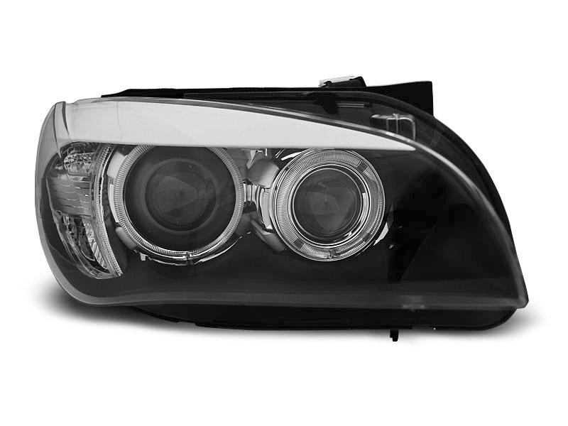 Predné svetlá, BMW X1 E84, 2009-2012, AE LED BLACK