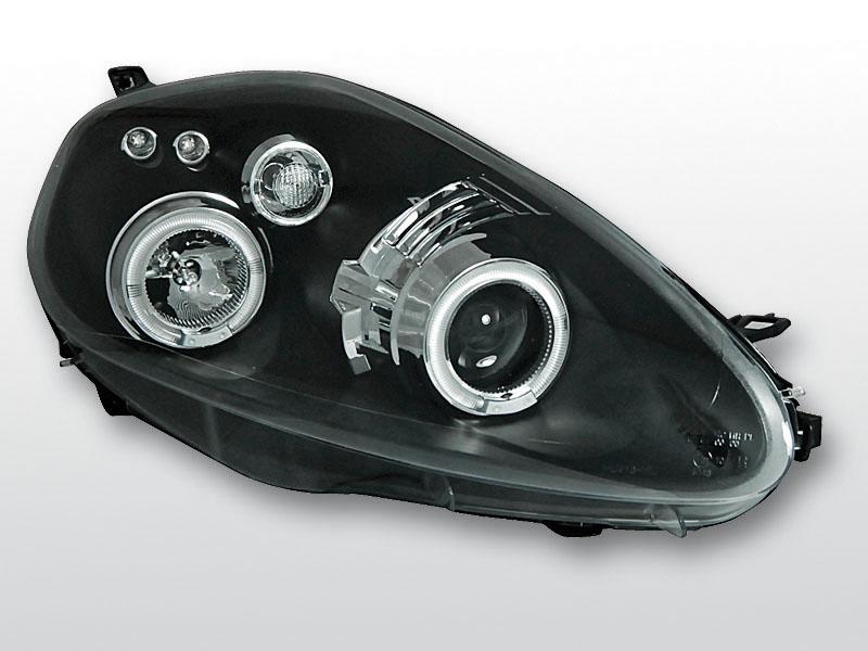 Predné svetlá, FIAT GRANDE PUNTO, 2005->2009