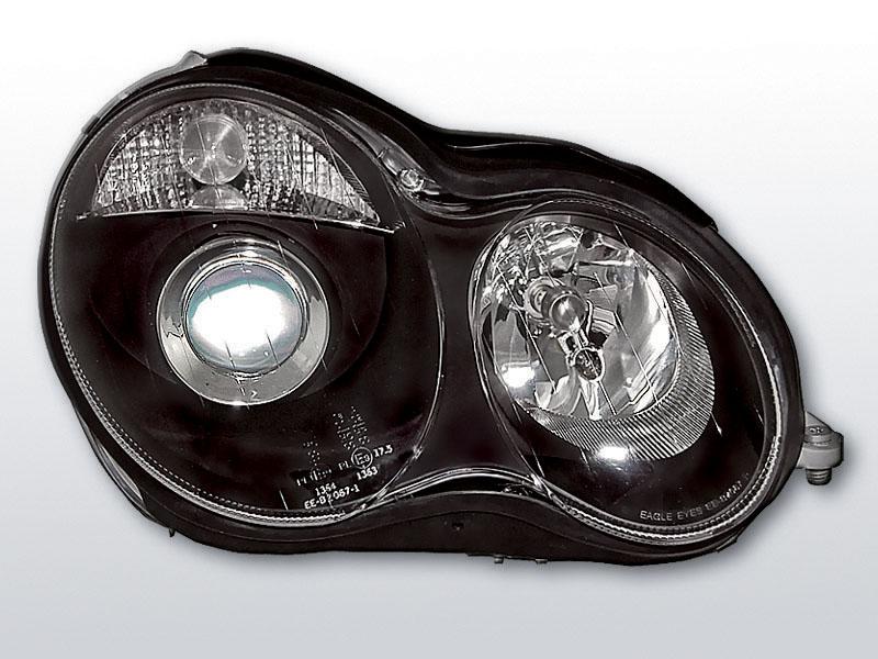 Predné svetlá, MERCEDES W203 C-KLASA, 2000->2004