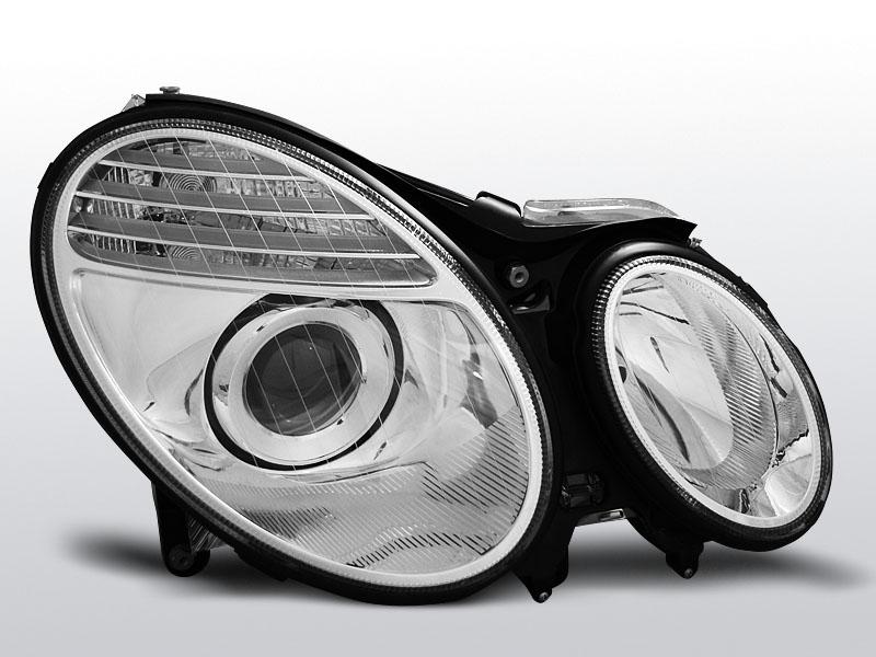 Predné svetlá, MERCEDES W211 E-KLASA, 2002->2006