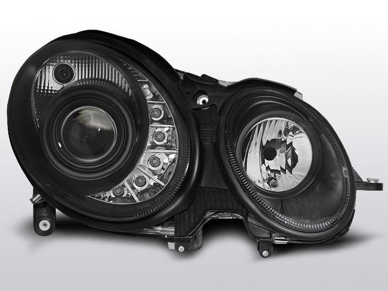 Predné svetlá, MERCEDES W211 E-KLASA, 2006->2009