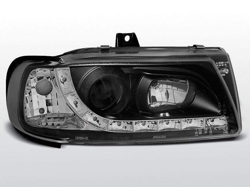 Predné svetlá, SEAT IBIZA II, 1993->1999, DAYLIGHT BLACK