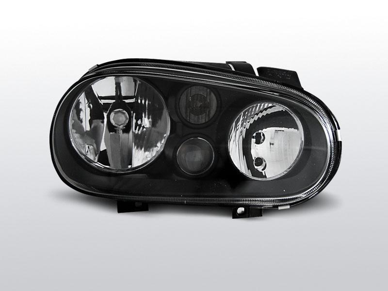 Predné svetlá, VW GOLF IV, 1997-2003, ČIERNA