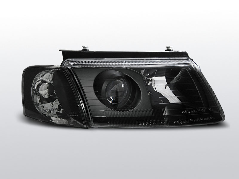 Predné svetlá, VW PASSAT B5 (3B) 3B, 1996-2000, H7/H7 ČIERNA
