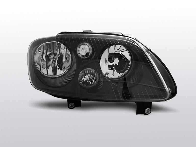 Predné svetlá, VW TOURAN, 2003-2006, /CADDY ČIERNA