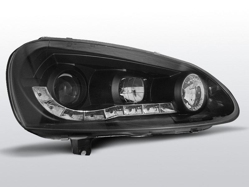 Predné svetlá, VW GOLF 5 DAYLIGHT BLACK