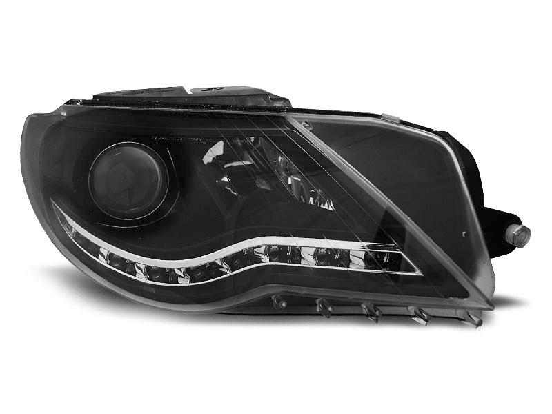 Predné svetlá, VW PASSAT CC, DAYLIGHT BLACK