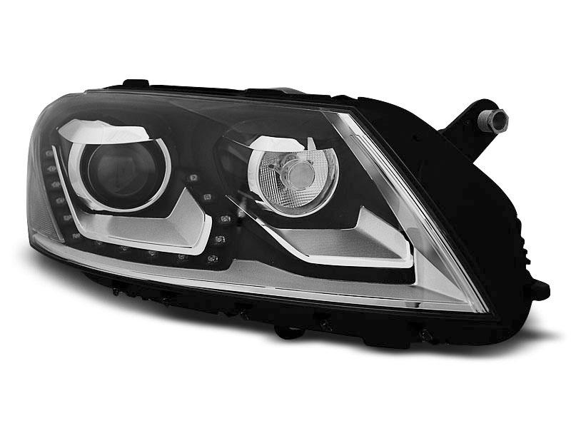 Predné svetlá, VW PASSAT B7, 2010-2014, DAYLIGHT BLACK