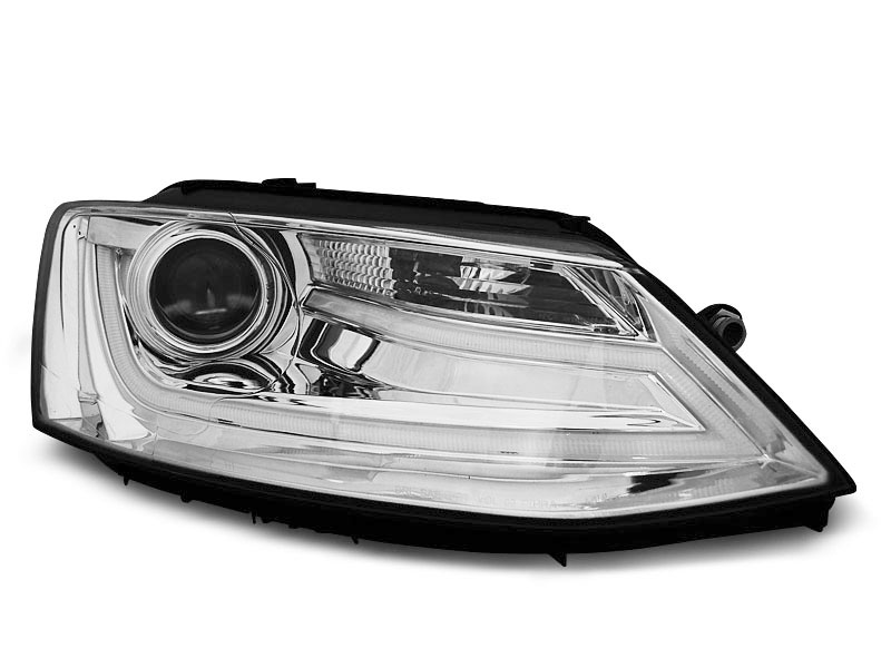 Predné svetlá, VW JETTA VI, 2011-2018, TUBE LIGHT CHROME