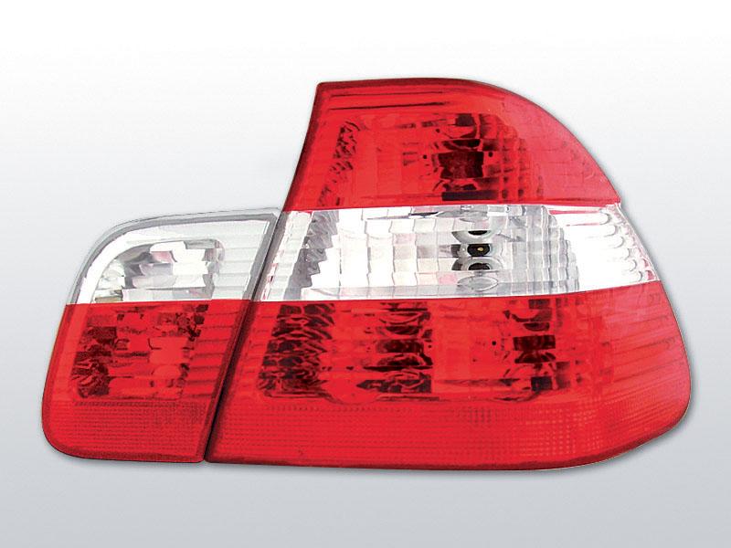 Zadné svetlá číra, BMW E46, 1998->2001